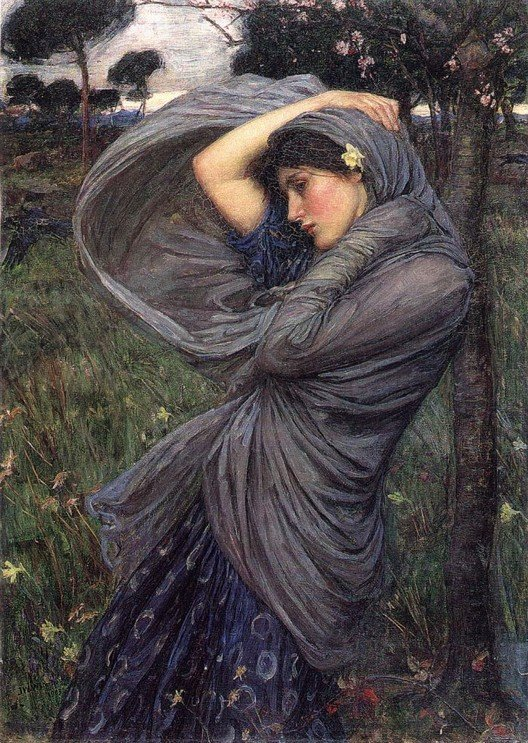 John William Waterhouse_boreas 1902