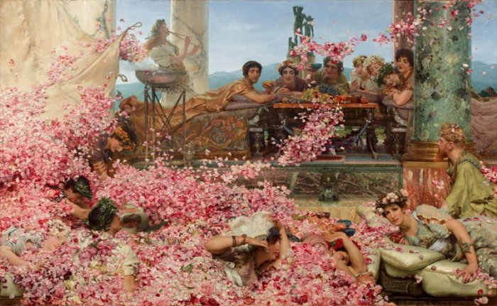 The_Roses_of_Heliogabalus - Lawrence Alma-Tadema, 1888