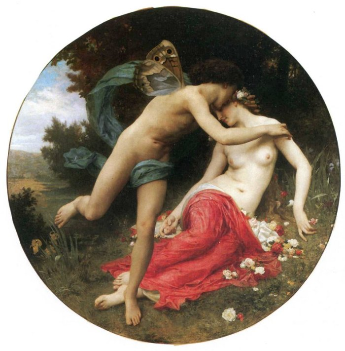 Zéphyr et Chlorys - William-Adolphe_Bouguereau_(1825-1905)_-_Flora_And_Zephyr_(1875)